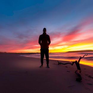 Beach Sunset Mid North Coast Qld