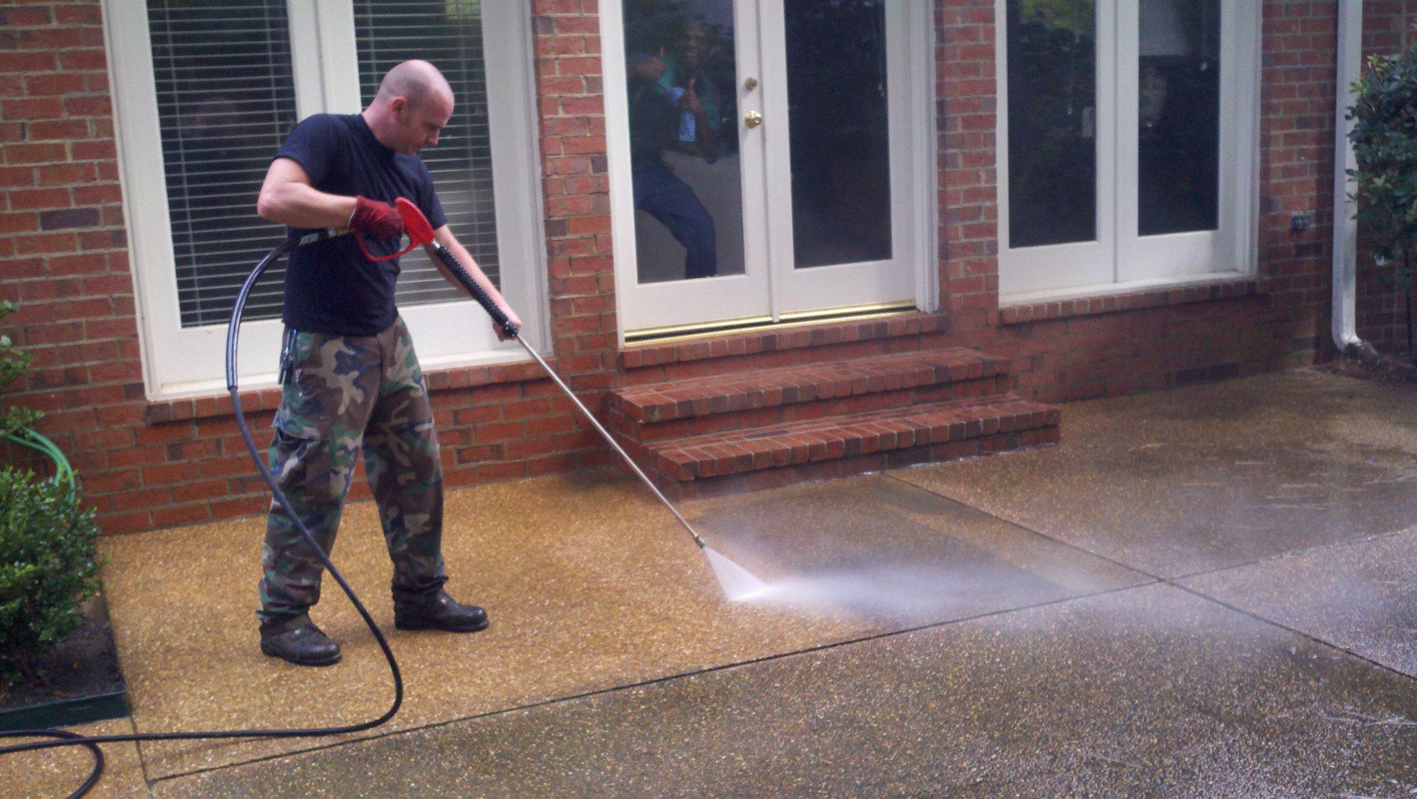 Memphis residential Pressure Washing