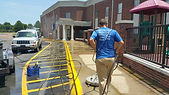 Memphis commercial pressure washing