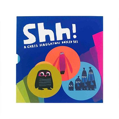 Shh!: A Chris Haughton Boxed (3-Books)