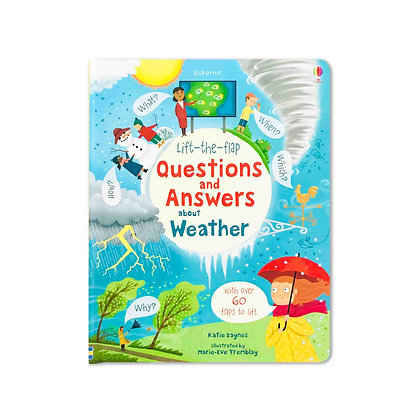 Questions and Answers about Weather (Lift-the-Flap)