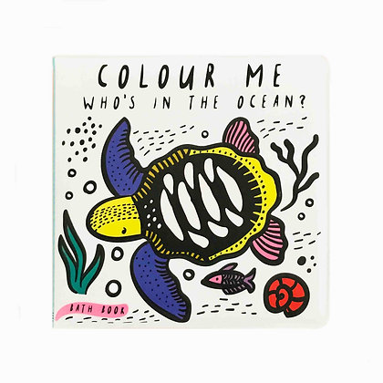 Colour Me: Who's in the Ocean