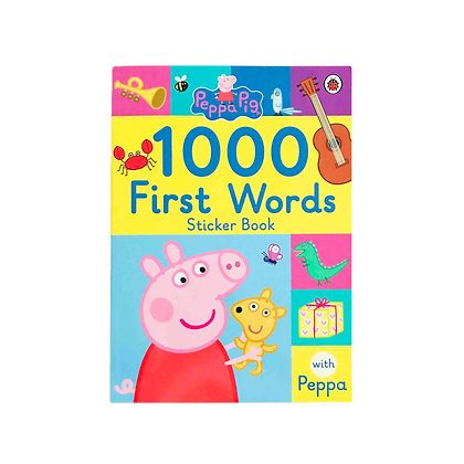 Peppa's Pig 1000 First Words Stickers Book