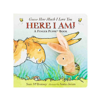 Guess How Much I Love You: Here I Am! A Finger Puppet Book