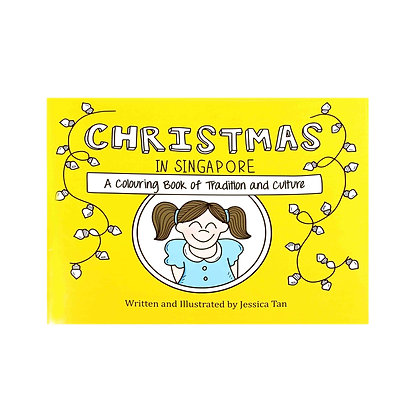 Drawnby: Christmas in Singapore Colouring Book