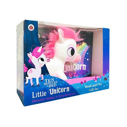 Ten Minutes to Bed: Little Unicorn Book + Plush Set