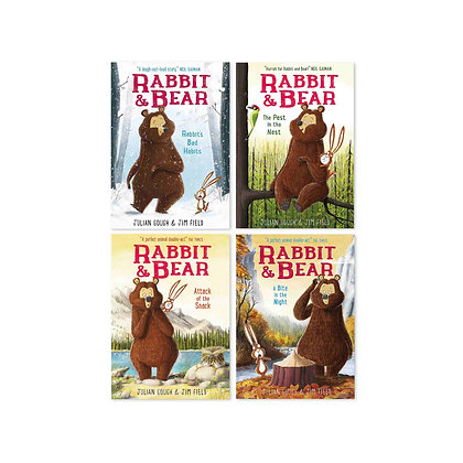 Rabbit and Bear (4-Books Set)