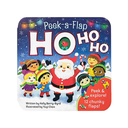 Peek-a-Flap Ho Ho Ho