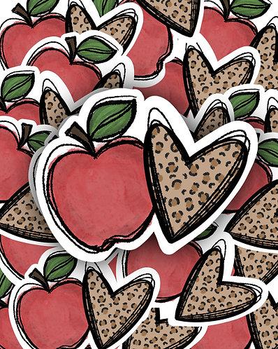 Apple Leopard Heart Waterslide DOWNLOAD