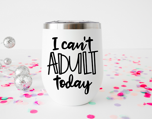 I can't ADULT today decal download