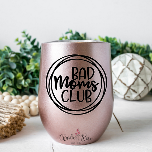 bad moms club (two designs) decal download