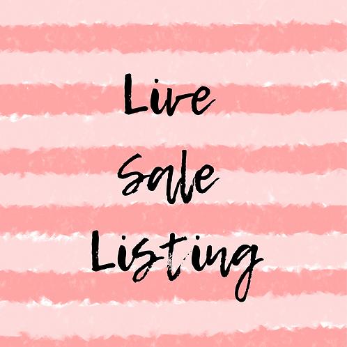 Live Sale Amy T