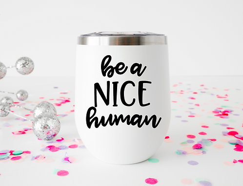 be a nice human decal download