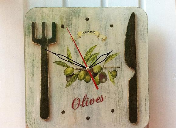"""Часы """"Вилка и нож"""""""