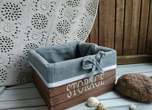 Короб для мелочей Storage brown