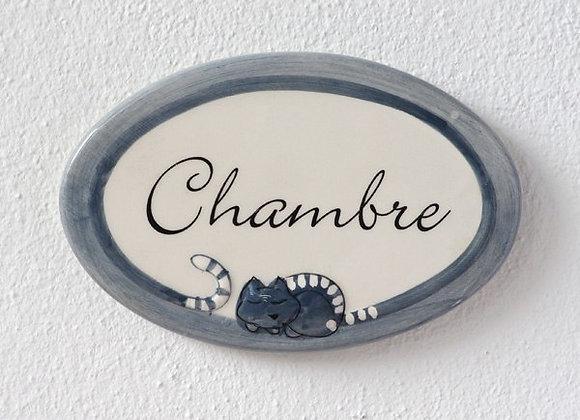 Табличка на дверь RONRON (серый)
