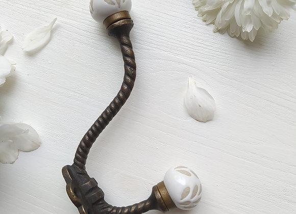Крючок Ceramic Floral