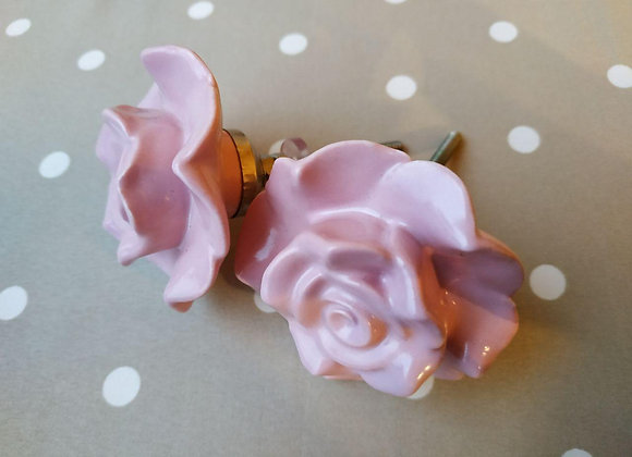 Мебельная ручка PINK FLOWER