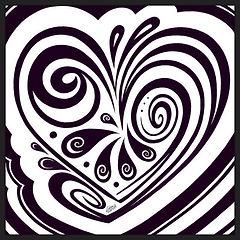 Heart 1 - Digital Drawing