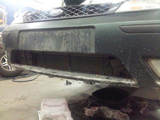 Кузовной ремонт в нашей мастерской.
