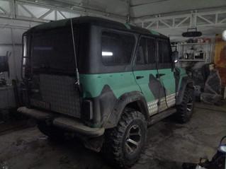 Покраска в U-POL Raptor УАЗ 469