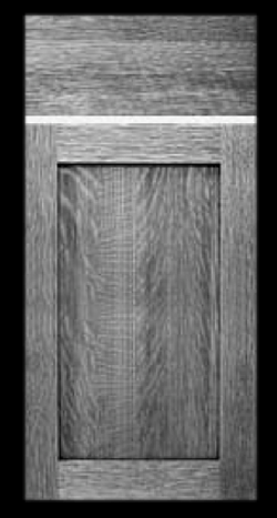 Weathered Grain Door Style