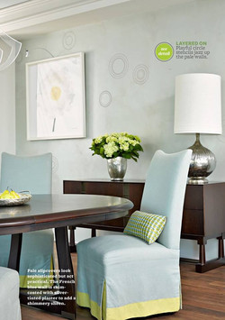 Coastal Modern Dining Room