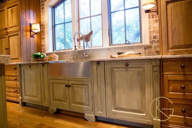 Brown Oak Kitchen Love