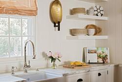 Floating Kitchen Shevles
