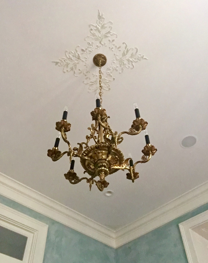 Dining room Ceiling Details