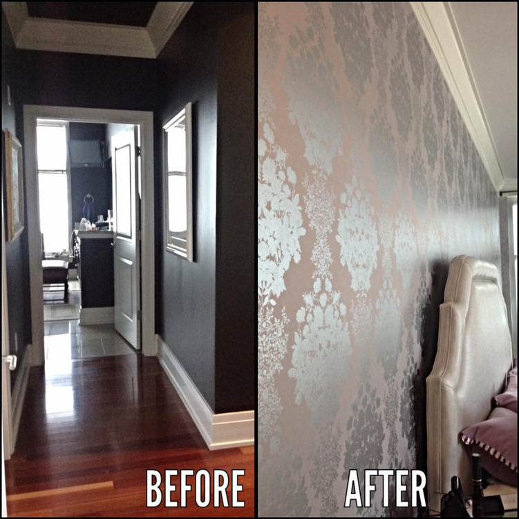 Master Suite Before and After