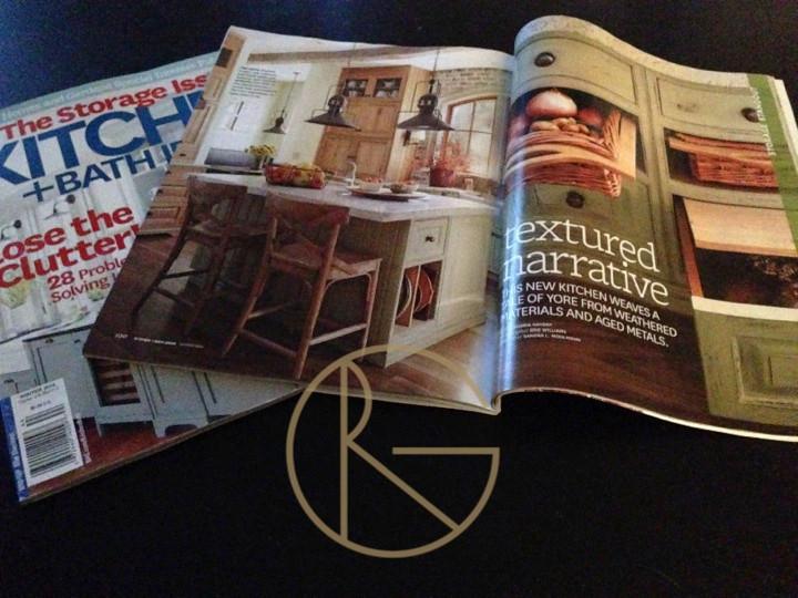 "Better Homes and Gardens ""The Storage Issue"" Kitchen + Bath Winter 2014"
