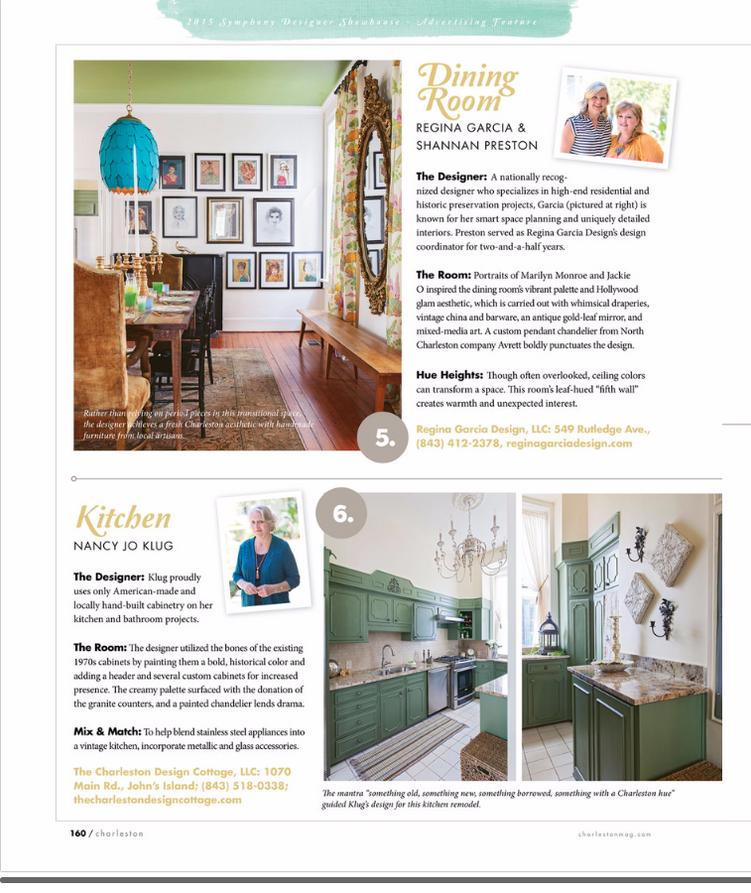 Charleston Symphony Designer Showhouse Dining Room Charleston Magazine