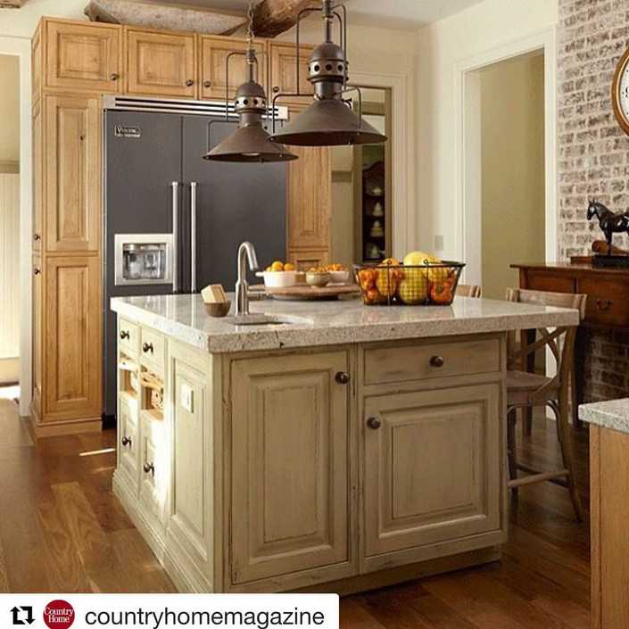 A Country Home Favorite Kitchen!