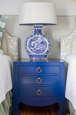 Attic Bedroom Chinoiserie Lamp