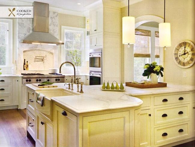 Milk paint Kitchen Luxury