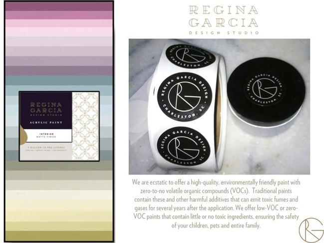 Regina Garcia Design Studio Paint Collection