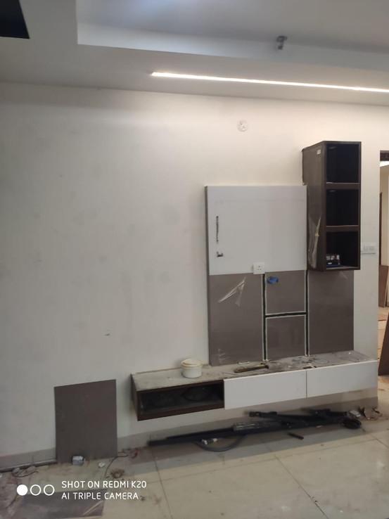 TV Ledge & Cabinet