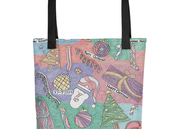 """""""Christmas Unwrapped"""" Tote Bag"""
