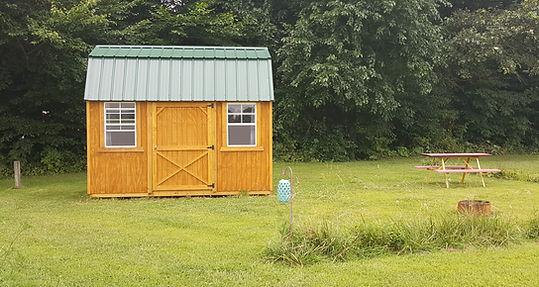 primitive lofted barn rental cabin