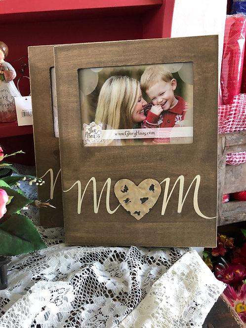 Wooden Mom Frame
