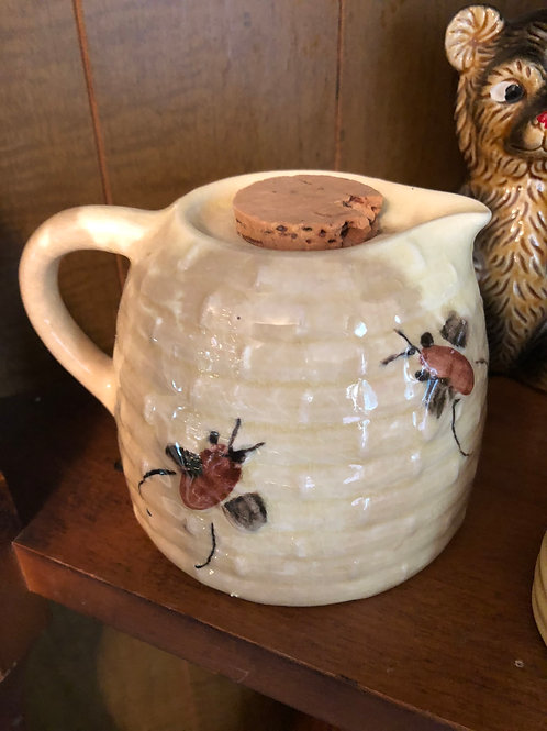 Vintage Honey Pot with Cork