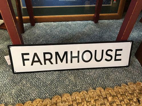Farmhouse Metal Sign