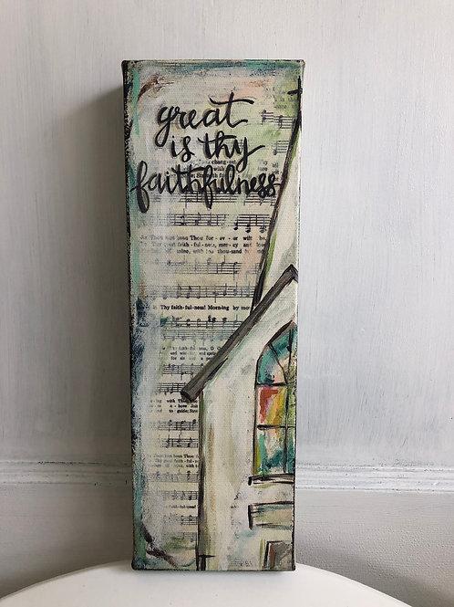 Faithfulness Canvas