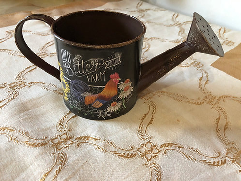 Small Rooster Watering Can