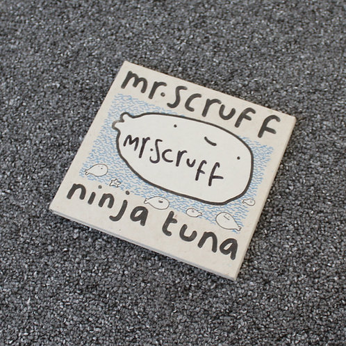 Mr Scruff - Ninja Tuna - Signed CD