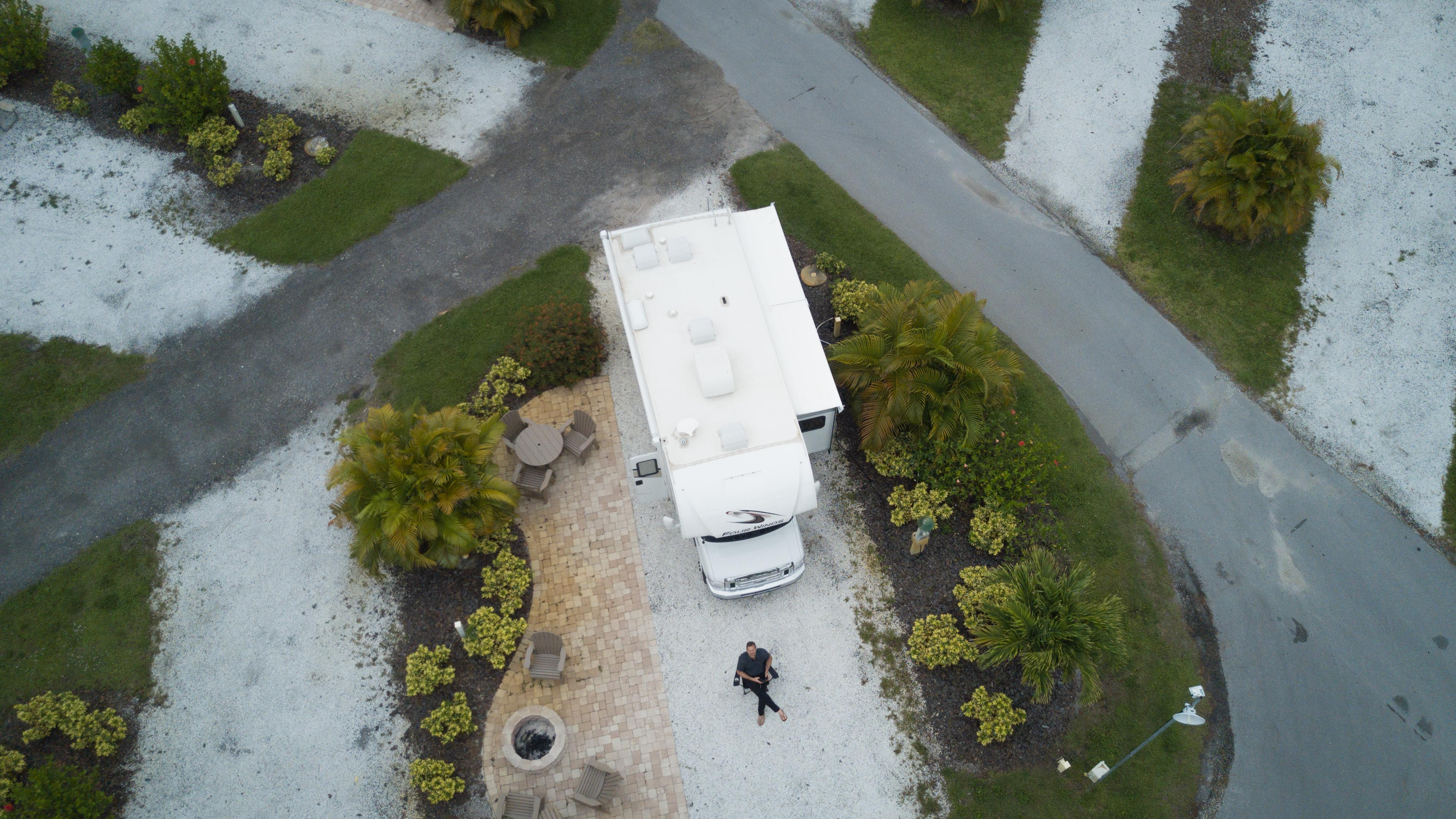 Florida - drone flying to capture stills.