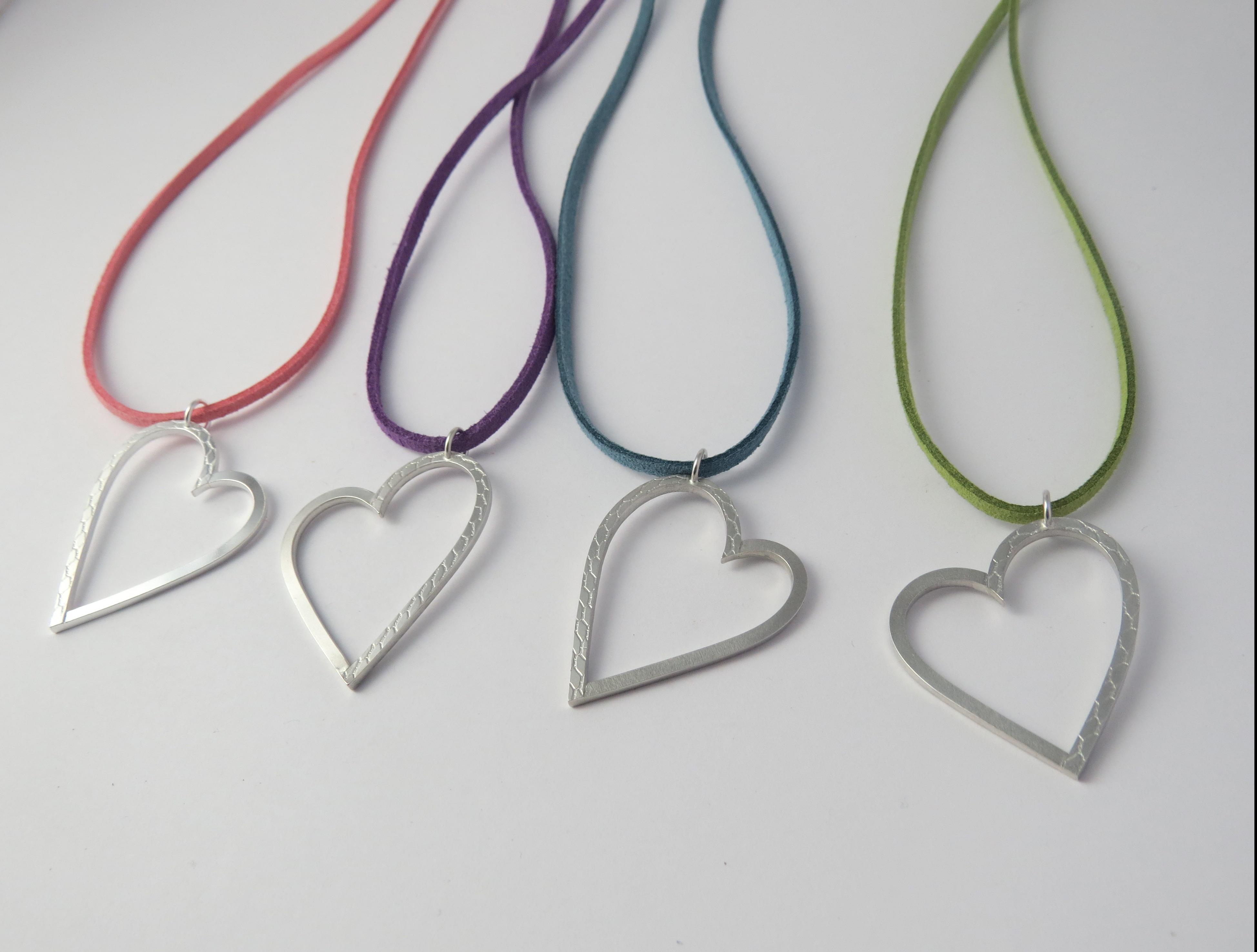 Hearts on cord (19) ETSY