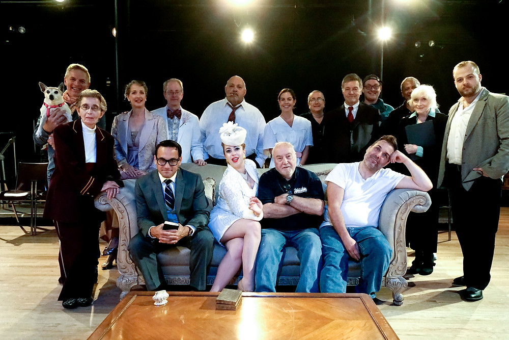 Cast & Crew of BORN YESTERDAY