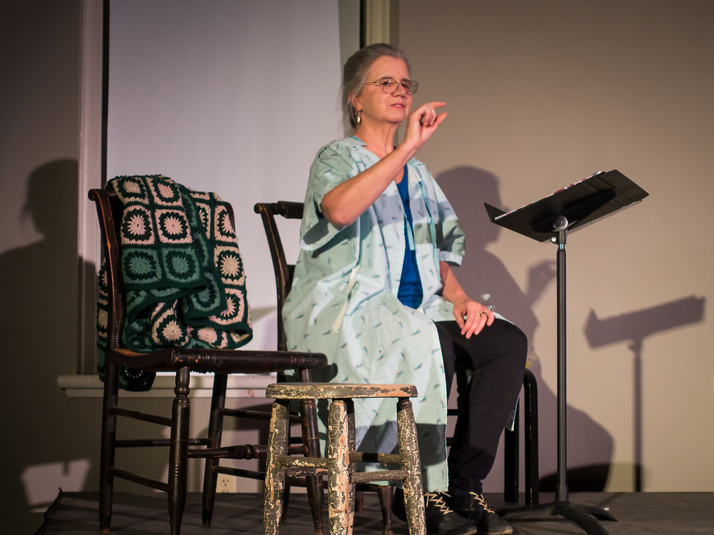 Marylou DiPietro in IN LOVE WITH CANCER at United Solo